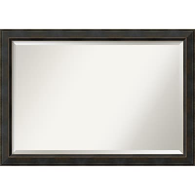 """Amanti Art Signore Wall Mirror - Extra Large 40"""" x 28"""" Bronze (DSW1385251)"""