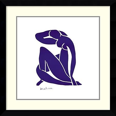 Amanti Art ? Impression encadrée « Blue Nude » par Henri Matisse, 31 x 31 po (DSW1421096)