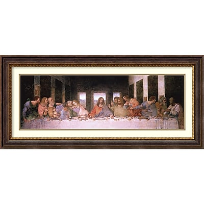 Leonardo da Vinci 'The Last Supper (Detail)' Framed Art Print 45