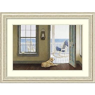 Amanti Art Zhen-Huan Lu Looking Over the Sea Framed Art Print, 35