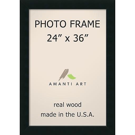 Corvino Black Photo Frame 29 x 41-inch (DSW1385399) | Staples