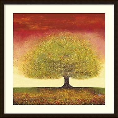 Amanti Art Melissa Graves-Brown Dreaming Tree Red Framed Art Print, 34