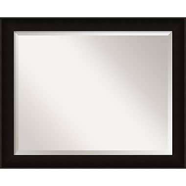 Amanti Art ? Miroir mural Manteaux, grand, 32 x 26 po, noir (DSW1418217)