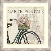 """Pela Studio 'Paris Ride I' Framed Art Print 27"""" x 27"""" (DSW1419825)"""