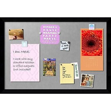 Amanti Art Mezzanotte Magnetic Board, 39 x 27