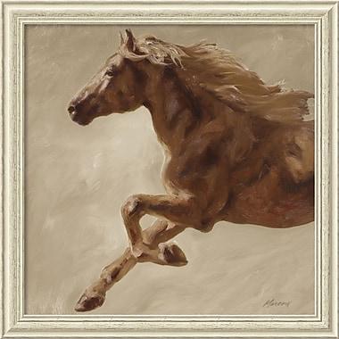 Amanti Art ? Impression encadrée « Trot » par Julianne Marcoux, 34 x 34 po (DSW1385215)