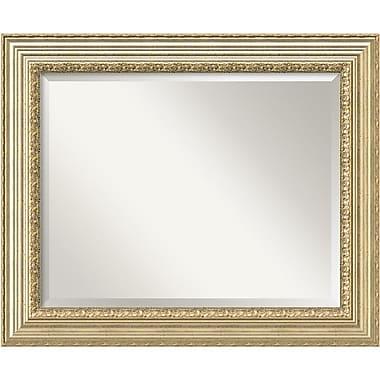Amanti Art ? Miroir mural champagne victorien, grand, 35 x 29 po (DSW1394308)