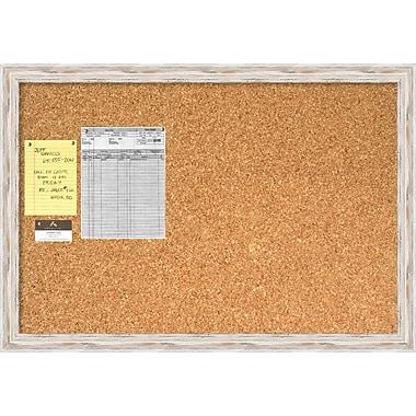 Alexandria Whitewash Cork Board, Large Message Board, 39