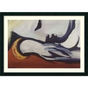 "Pablo Picasso 'Dreaming' Framed Art Print 43"" x 31"" (DSW1385179)"