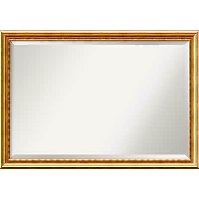 Amanti Art Townhouse Gold Wall Mirror -