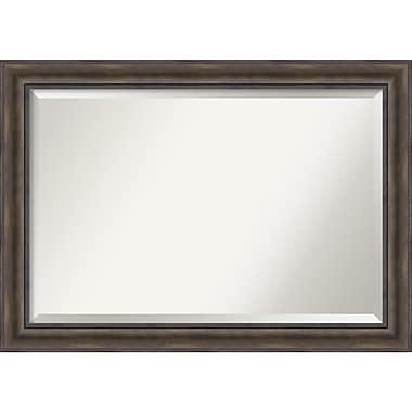 Amanti Art Rustic Pine Wall Mirror, Extra Large, 42