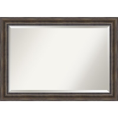 Amanti Art Rustic Pine Wall Mirror - Extra Large 42