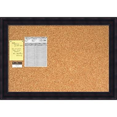 Amanti Art Annatto Cork Board Large Message Board, 41 x 29