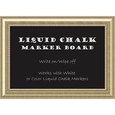 Amanti Art ? Tableau pour marqueurs à craie liquide Astoria, grand, 43 x 31 po (DSW2972085)
