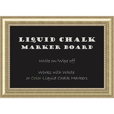 Astoria Liquid Chalk Marker Board - Large Message Board 43 x 31-inch (DSW2972085)