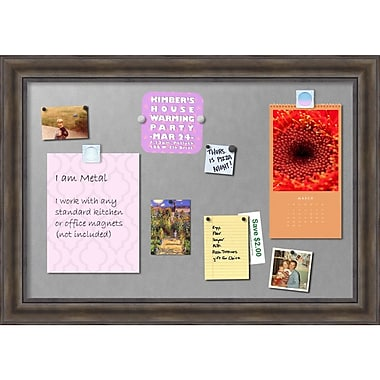 Amanti Art Rustic Pine Magnetic Board, Magnetic Board, 42 x 30