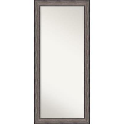 Amanti Art Country Barnwood Floor Wall Mirror 29