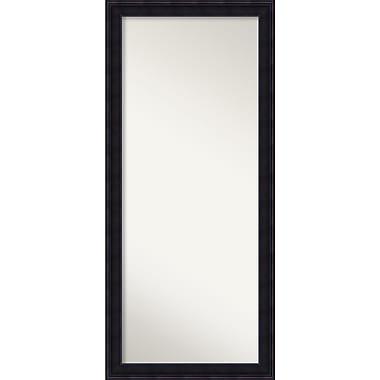 Amanti Art ? Miroir mural ou de plancher Annatto, 29 x 65 po, brun (DSW2968517)