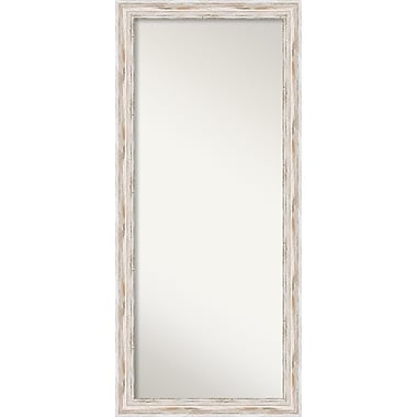 Amanti Art Alexandria Whitewash Floor Wall Mirror, 29