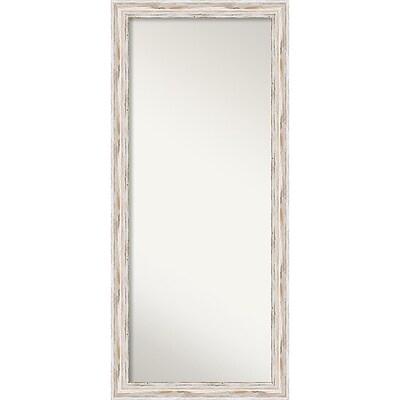 Amanti Art Alexandria Whitewash Floor Wall Mirror 29