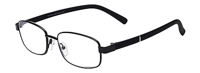 Select-A-Vision Optitek Hi-Tech +2.00 Reading Glasses, Black (EAR7126BK-200)
