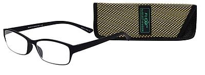 Select-A-Vision Flex 2 +1.25 Reading Glasses, Black (E5028-125-001)