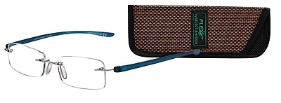 Select-A-Vision Flex 2 +1.50 Reading Glasses, Blue (E5026BL-150)
