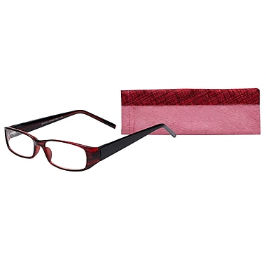Select-A-Vision Victoria Klein Ladies High Fashion +1.50 Reading Glasses, Burgundy (E7021BG-150)