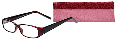 Select-A-Vision Victoria Klein Ladies High Fashion +2.00 Reading Glasses, Burgundy (E7021BG-200)