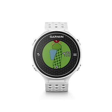 Garmin - Montre de golf Approach® S6, gris pâle (010-01195-00)