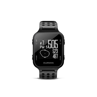 Garmin Approach® S20 Golf Watch, Black (010-03723-01)