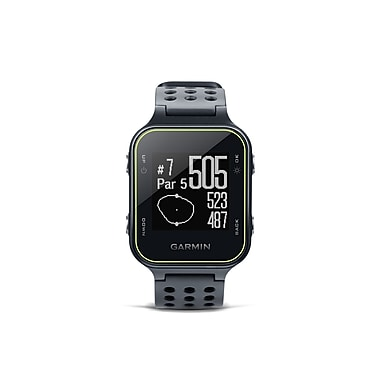 Garmin Approach® S20 Golf Watch, Slate (010-03723-02)