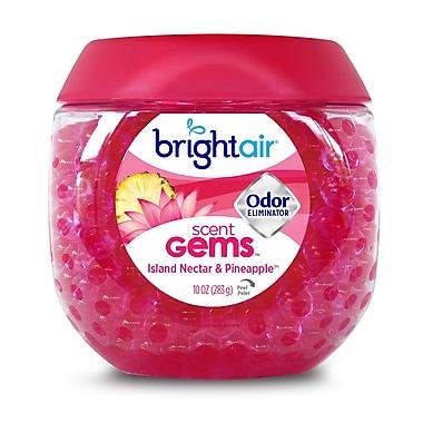 Bright Air Gems Odor Eliminator, Island Nectar & Pineapple Scent