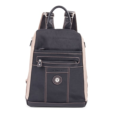 Mouflon Bicolore Backpack, Black/Taupe