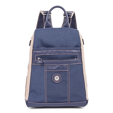 Mouflon Bicolore Backpack, Navy/Taupe