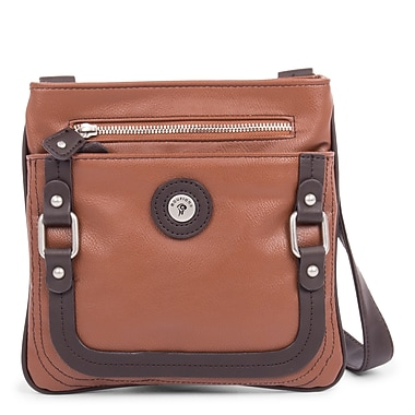 Mouflon Generation Crossbody, Tan/Dark Brown