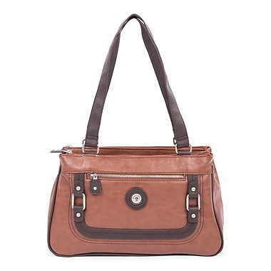 Mouflon Generation Satchel, Tan/Dark Brown