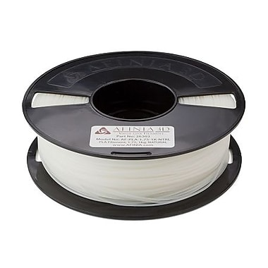 Afinia Value-Line PLA Filament for 3D Printers, Natural, (AFPLA1.751KNTRL)