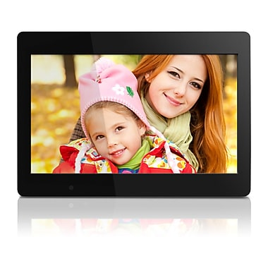 Aluratek Digital Photo Frame, 4 GB Built-In Memory, Remote