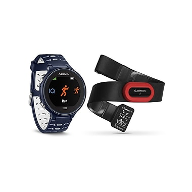 Forerunner® 630 Smartwatch, Midnight Blue Bundle
