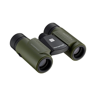 Olympus 8 x 21 RC II WP Binoculars, Green (8X21RCIIWPBINOC)