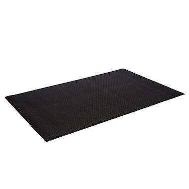 Floortex FCOMK2424BK Comfort Anti-Fatigue Mat for Standing Workstations, 24