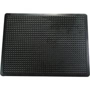 Floortex – Tapis antifatigue à bulles pour utilisation commerciale et industrielle, FBUBB3660B, 36 x 60 (po), noir