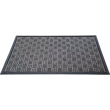 Floortex FPRTG4872CH Prestige Wiper/Scraper Mat for Indoor Entrances, 48