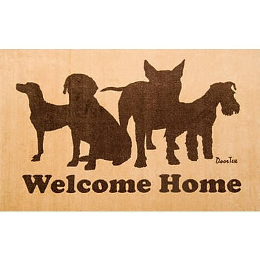 Foortex FR4WD2439 Residential Indoor Entrances Mat with Dogs, 24