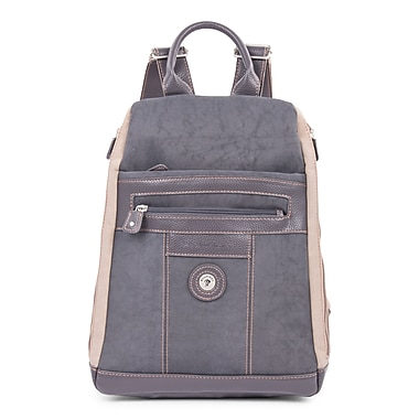 Mouflon Bicolore Backpack, Grey/Taupe