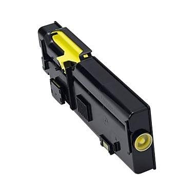 Dell Toner Cartridge, Laser, High Yield, Yellow, (2K1VC)