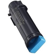 Dell Toner Cartridge, Laser, Standard Yield, OEM, Cyan, (WG4T0)