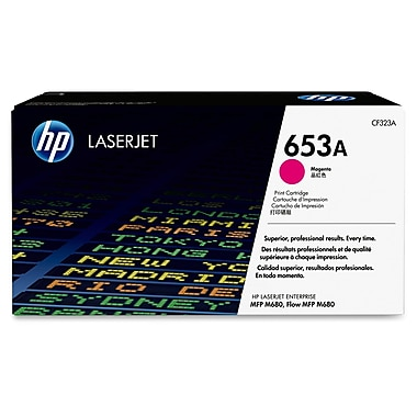 HP 653A (CF323A) Magenta Original LaserJet Toner Cartridge