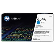 HP 654A (CF331A) Cyan Original LaserJet Toner Cartridge